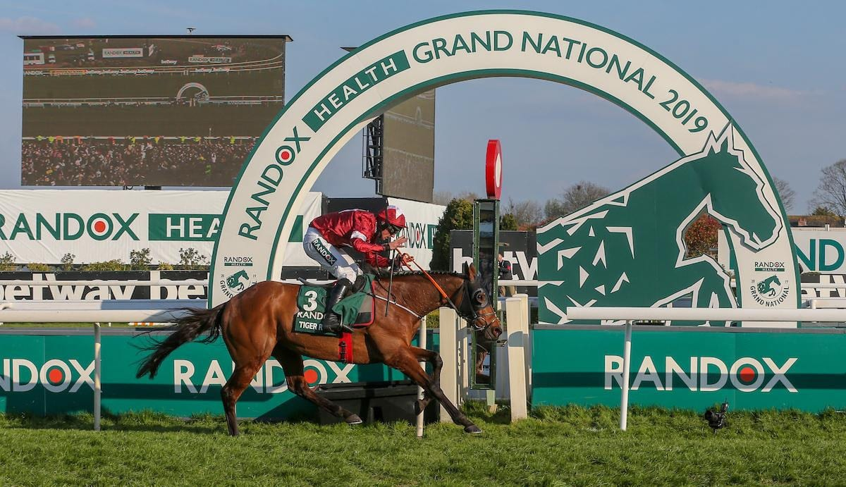Tiger Roll favourite to win the Randox Health Grand National 2020 - The Guide Liverpool