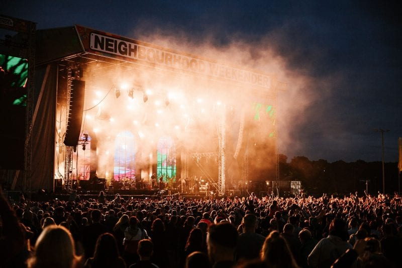 Have you seen the huge lineup for Neighbourhood Weekender? - The Guide Liverpool